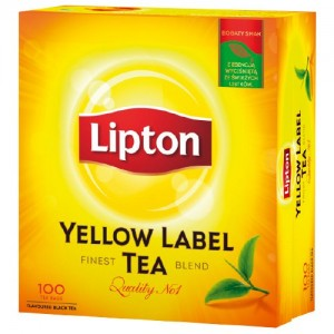Herbata Lipton Yellow Label 100 sasz.