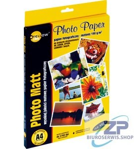 Papier foto Yellow One A4 190g matowy 50 ark  (4M190)