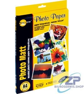 Papier foto Yellow One A4 140g matowy 50ark  (4M140)