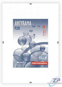 Antyrama plexi 600x800 mm MEMOBOARDS